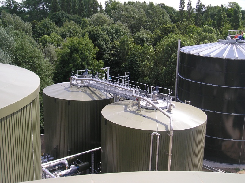 Пэнэко Тэнкс Tank for anaerobic digestion