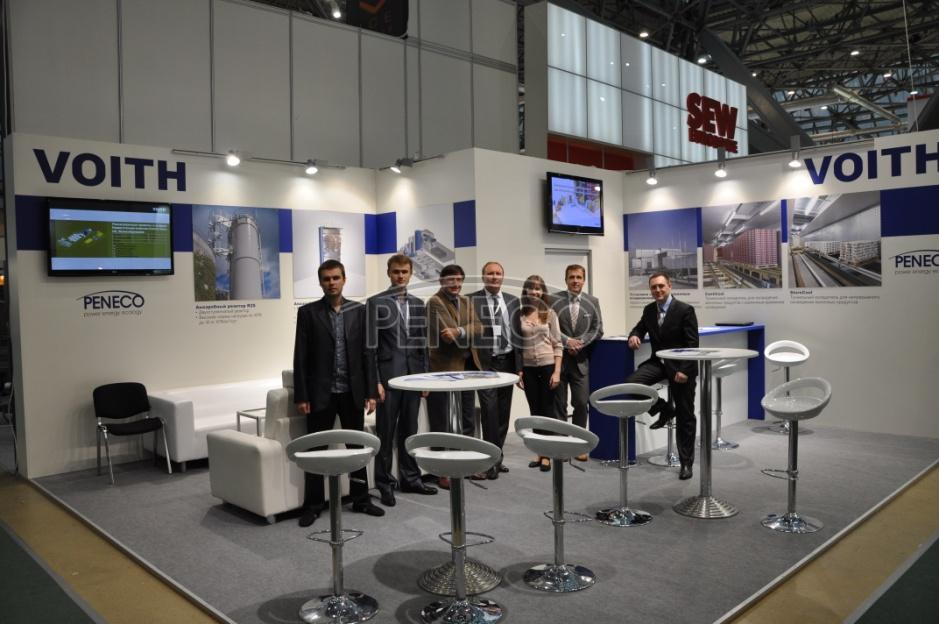 Агропродмаш-2011 Voith and Peneco specialists at the exhibition Agroprodmash 2011